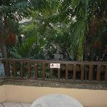 balcony facing street