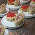 Presentation of food was beautiful