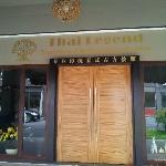 Thai Legend's Entrance door