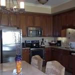 kitchen in one-bedroom condo
