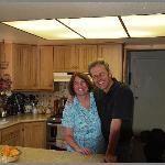 Owners Carol + Franz