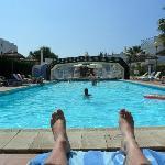 pool veiw