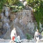 waterfall in Alanya Centre