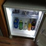 Free Soft Drink Mini Bar