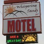 Whispering Sands Motel, Hanksville, Utah