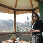 Vue panoramique du bungalow