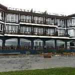 Façade de l hôtel