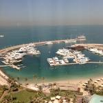 Jumeirah Marina from my room
