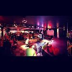 Dyyni Dance Bar near stage