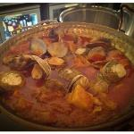 cataplana of pork and clams
