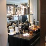 Tea & Coffee area in bedroom
