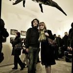 Il Coccodrillo della Vucciria durante la manifestazione in onore del suo ritorno dopo 15 anni
