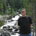 Dave at Copeland Falls