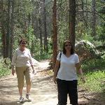 the easy gravel trail