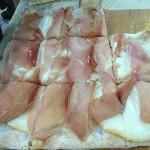 PIZZA BIANCA CON SPEACK E AFFUMICATO