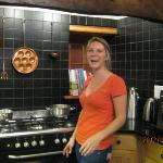 The chef, Heloise, makes you feel at home
