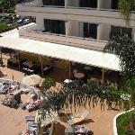 dining area from balcony