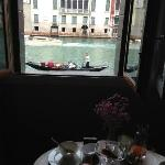Breakfast by the Grand Canal!!
