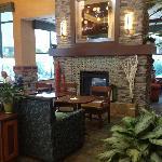 Cozy Fireplace Sitting Area