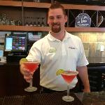 Bartender Jacob makes a great Cosmo!