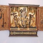 Polittico altorilievo in legno  (49803459)