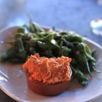 romesco with padrons
