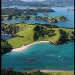 Waewaetorea Island in the forground. A special destination in the Bay Of Islands