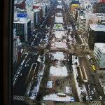 ホテルモントレ エーデルホフ札幌・・・南側コーナーツインからの大通り公園の眺めは抜群