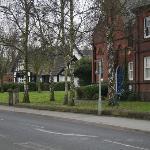 Its next to a pub, thats a plus.
