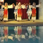 Entertainment folk dance in hotel