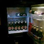 Nice sized fridge.
