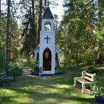 The chapel at Hidden Chapel Winery
