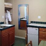 Kitchenette for longer stays