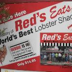 Poster @ Red's Eats