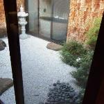 Zen Garden (see the tub?)