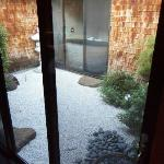 Zen Garden within the suite