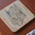 Mildew and black mold on a cutting board!