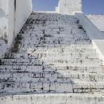 Stairs to Spanish gun deck