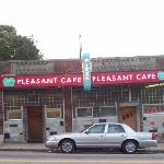 Front of Pleasant Cafe