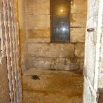 One of the jail cells