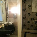 King Suite bathroom - separate room for toilet