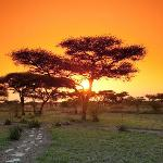 Sunset at Mapito Camp