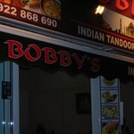 you can't miss Bobby's