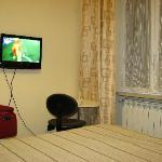 Small TV.