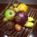 Local fruits served daily