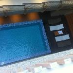 Pool from 3rd floor balcony