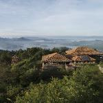 Virunga Lodge - overlooking Lakes Bulera and Ruhondo