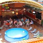 Summer pool andf terrace bar