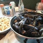 Mussels and fries 23E