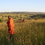 Guided walks with Masai guides